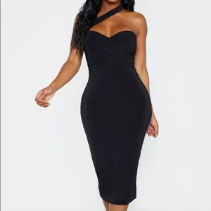 Slinky One Shoulder Dress